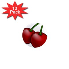 Cherries 1  Mini Magnet (10 pack)