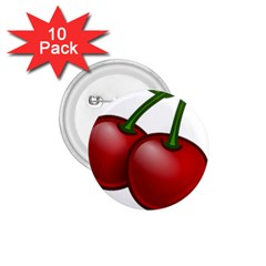 Cherries 1.75  Buttons (10 pack)