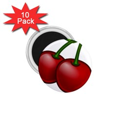 Cherries 1.75  Magnets (10 pack)