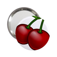 Cherries 2.25  Handbag Mirrors