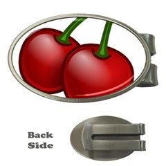 Cherries Money Clips (Oval)