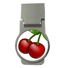Cherries Money Clips (Round)