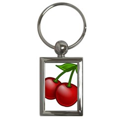 Cherries Key Chains (Rectangle)