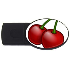 Cherries USB Flash Drive Oval (1 GB)