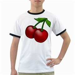 Cherries Ringer T-Shirts