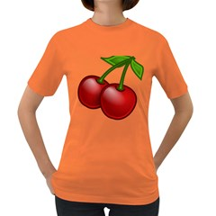 Cherries Women s Dark T-Shirt