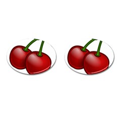 Cherries Cufflinks (Oval)