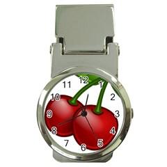 Cherries Money Clip Watches