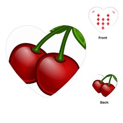 Cherries Playing Cards (Heart)