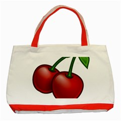 Cherries Classic Tote Bag (Red)