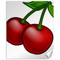 Cherries Canvas 16  x 20