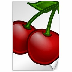 Cherries Canvas 24  x 36