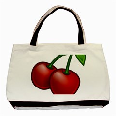 Cherries Basic Tote Bag (Two Sides)