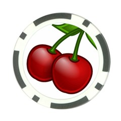 Cherries Poker Chip Card Guard