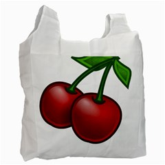 Cherries Recycle Bag (One Side)