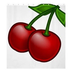 Cherries Shower Curtain 66  x 72  (Large)