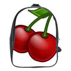 Cherries School Bags(Large)
