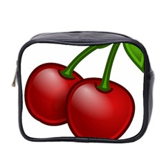 Cherries Mini Toiletries Bag 2-Side
