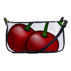 Cherries Shoulder Clutch Bags