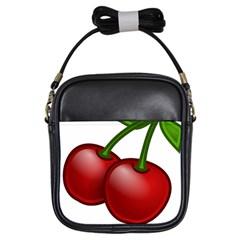 Cherries Girls Sling Bags