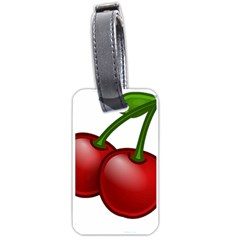 Cherries Luggage Tags (Two Sides)