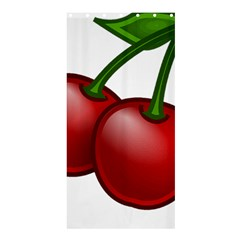 Cherries Shower Curtain 36  x 72  (Stall)