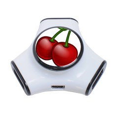 Cherries 3-Port USB Hub