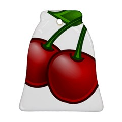 Cherries Ornament (Bell)