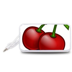 Cherries Portable Speaker (White)