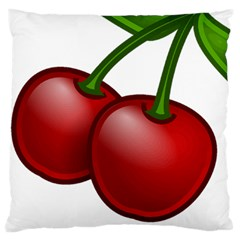 Cherries Large Cushion Case (One Side)