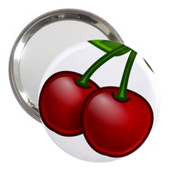 Cherries 3  Handbag Mirrors