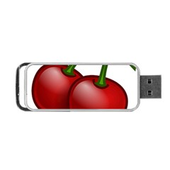 Cherries Portable USB Flash (One Side)
