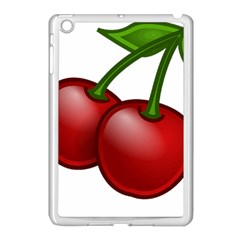 Cherries Apple iPad Mini Case (White)