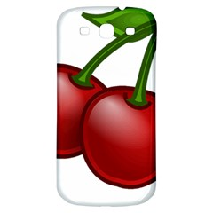 Cherries Samsung Galaxy S3 S III Classic Hardshell Back Case