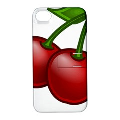 Cherries Apple iPhone 4/4S Hardshell Case with Stand