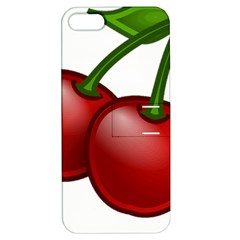 Cherries Apple iPhone 5 Hardshell Case with Stand
