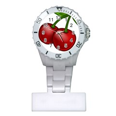 Cherries Plastic Nurses Watch