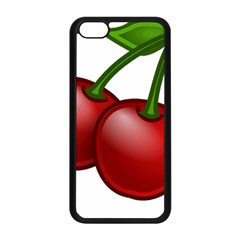 Cherries Apple iPhone 5C Seamless Case (Black)