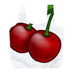 Cherries Full Print Recycle Bags (L)