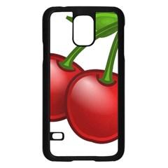 Cherries Samsung Galaxy S5 Case (Black)