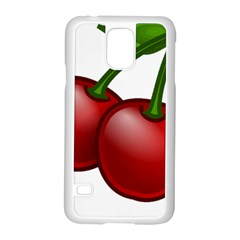 Cherries Samsung Galaxy S5 Case (White)