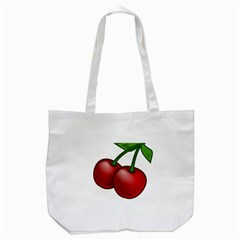 Cherries Tote Bag (White)