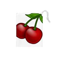 Cherries Drawstring Pouches (Small)