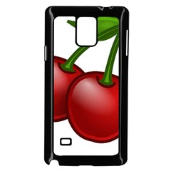Cherries Samsung Galaxy Note 4 Case (Black)