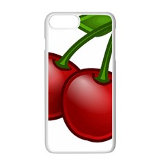 Cherries Apple iPhone 7 Plus White Seamless Case