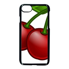 Cherries Apple iPhone 7 Seamless Case (Black)