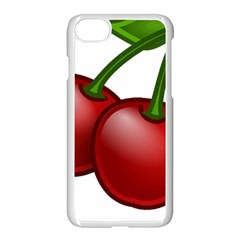 Cherries Apple iPhone 7 Seamless Case (White)