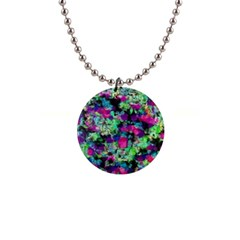 Blended texture              1  Button Necklace
