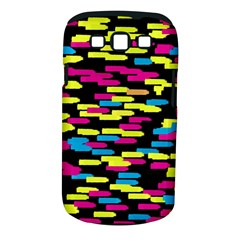 Colorful Strokes On A Black Background       Samsung Galaxy S Ii I9100 Hardshell Case (pc+silicone)