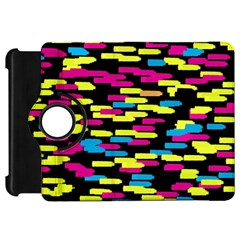 Colorful strokes on a black background       Apple iPad Mini Flip 360 Case